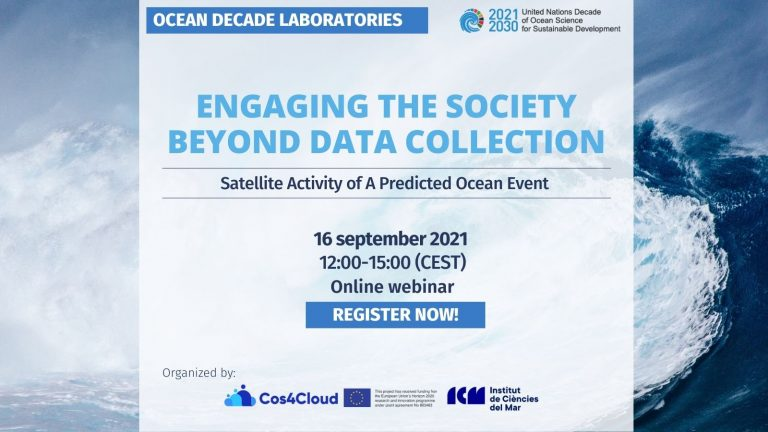 A Predicted Ocean Engaging the Society beyong data collection
